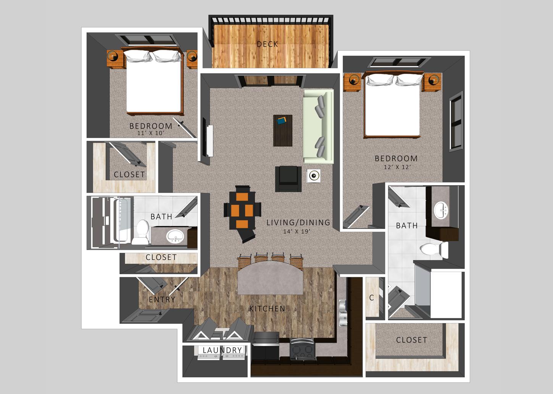 The Watson | HiPark Apartments
