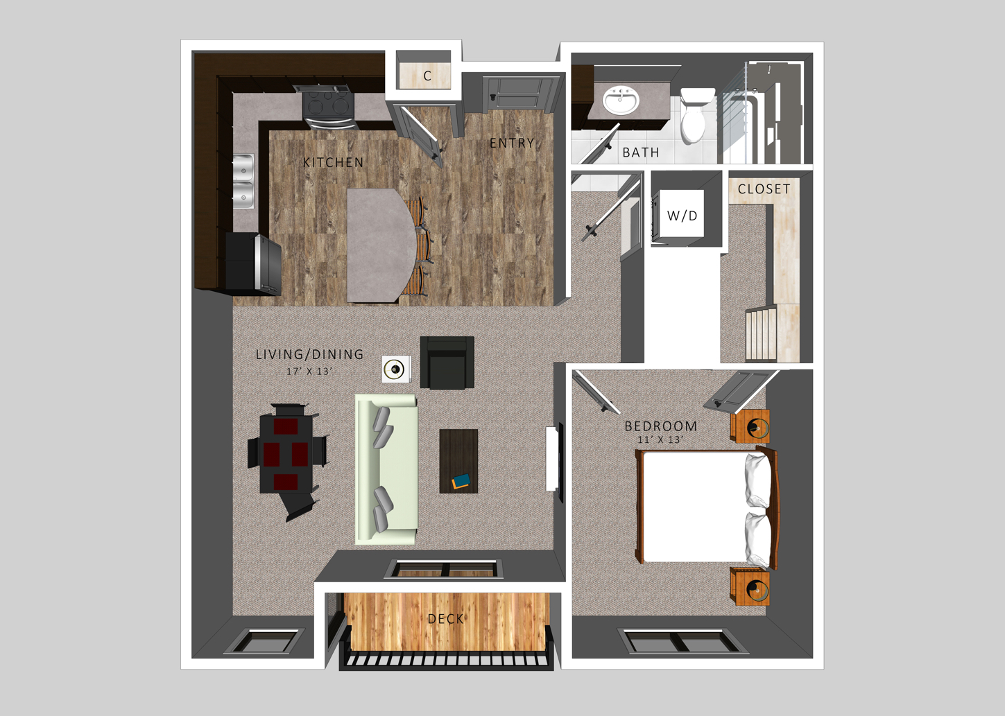 The Woods | HiPark Apartments